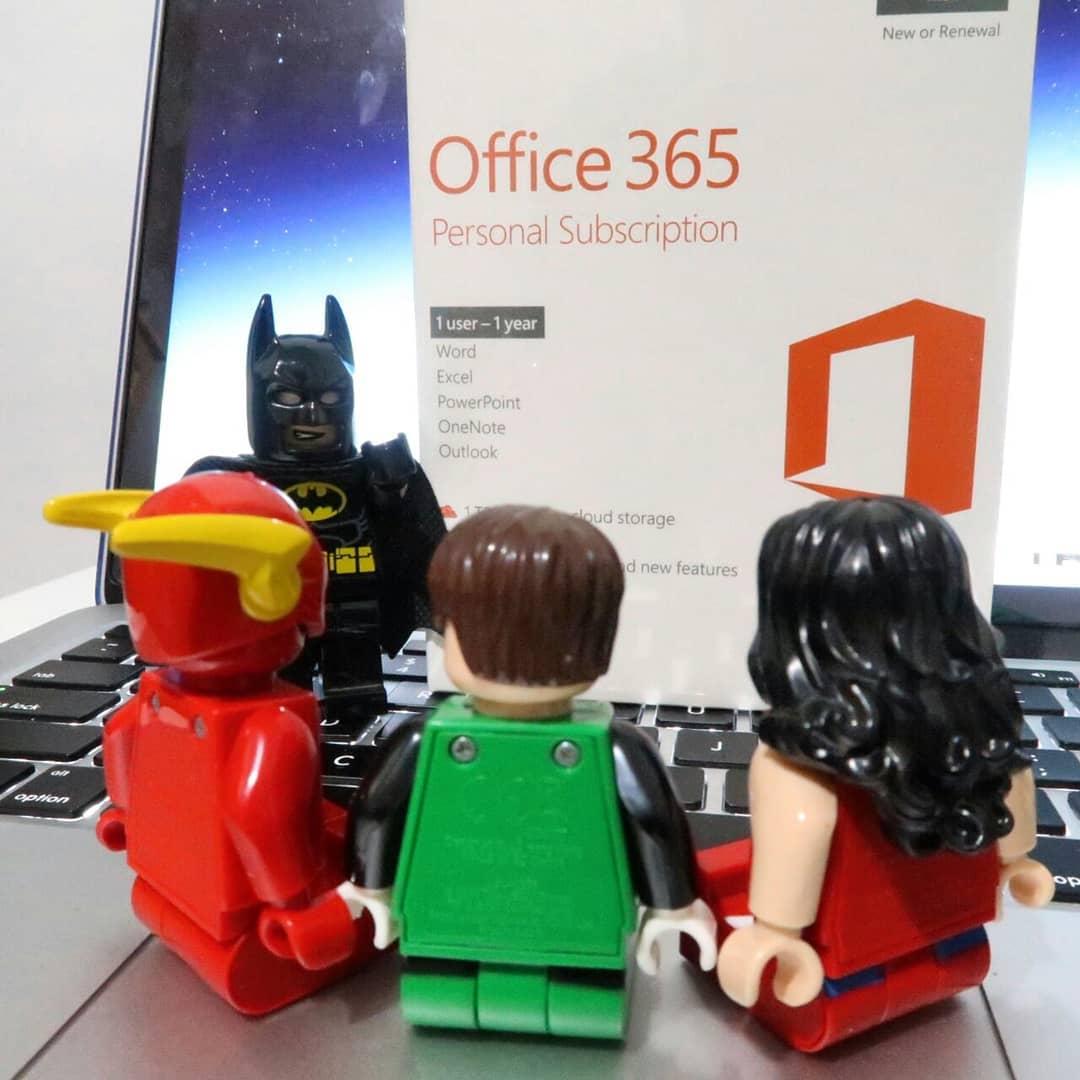 Yuk Pakai Microsoft Office 365 Original